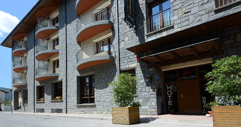 hotel en Ainsa